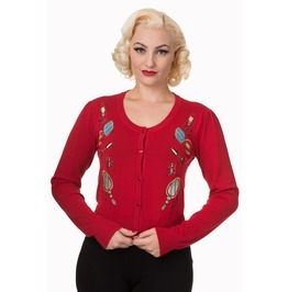 Banned Apparel New Romantics Cropped Cardigan