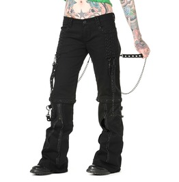 Banned Apparel Chain Trousers Black, And Black&Nickle