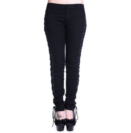 Banned Apparel Corset Style Black Skinny Jeans