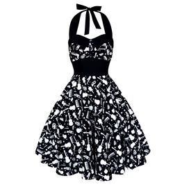 Festival Dress Pin Up Rockabilly Dress Gothic Steampunk Dress Party Dress