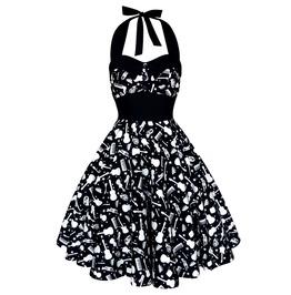 Festival Dress Pin Up Rockabilly Dress Gothic Steampunk Dress Party Dress