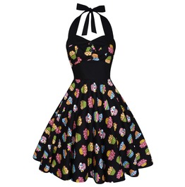 Party Dress Festival Dress Pin Up Rockabilly Dress Cupcake Dress Swing