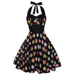 Party Dress Festival Dress Pin Up Rockabilly Dress Cupcake Dress Swing