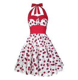 Cherry Dress Swing Dress Party Dress Festival Dress Pin Up Rockabilly Dress