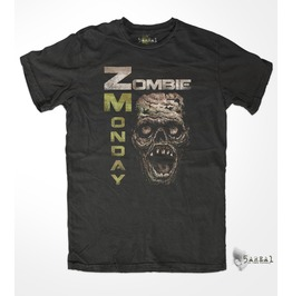 Zombie Monday T Shirt, By 5area1, Our Sister Brand, Men's/Unisex