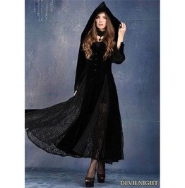 Long Sleeves Gothic Vampire Dress