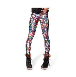 Multi Color Digitally Candy Printed Leggings