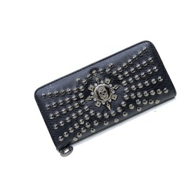 Black Skull And Cystal Faux Leather Handbag