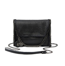 Metal Chain Skull Shoulder Bag