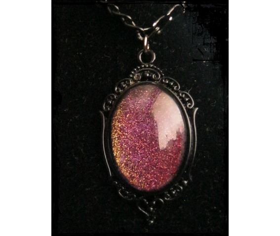 Necklace Cabochon, Glitter, Chain_Necklaces_2.JPG