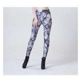 Multi Skull Printed Leggings