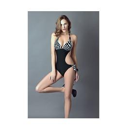 Womens One Piece Zebra Swimwear Bikini Plus Sizes