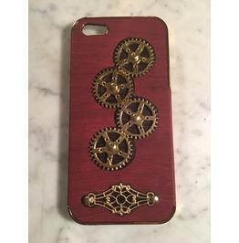 Igearz Steampunk Apple Iphone 5, 5s, Se Case Cover Gears Turn Brass Vent