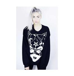 Catwoman Printed Sweatshirt