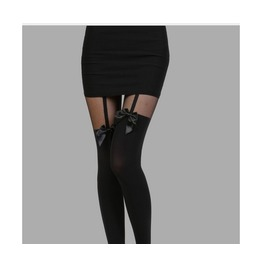 Pretty Polly Black Stocking
