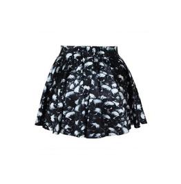 Mult Skull Digitally Printed Skirt