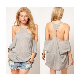 Off Shoulder Racer Back Top