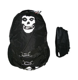Misfits Backpack Rucksack Bag With Straps And Clips