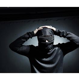 Men's Chic 100%Uv Custom Wrap Stud See Through Sunglasses