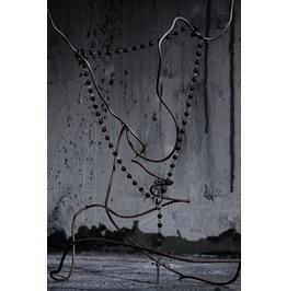 Black Rosario Necklaces