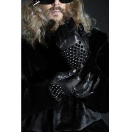 Men's Maximus Stud Leather Gloves