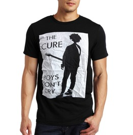 New Men Lady Graphic The Cure Boy Don't Cry Cotton T Shirt Graphic Size M