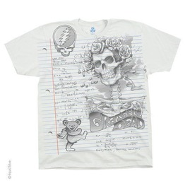 Grateful Dead T Shirt Sketch