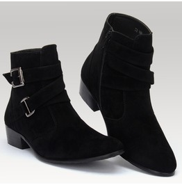 Men's British Style Autumn Spring Ankle Boots
