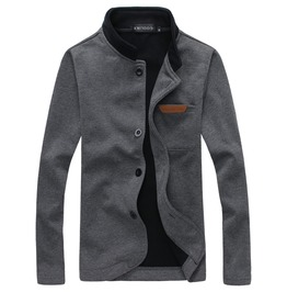 Men's Casual Stand Collar Jacket