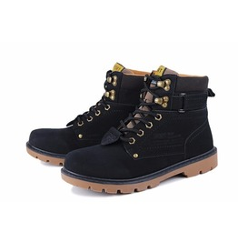Men's Winter Casual Pu Leather Ankle Boots