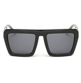 Dope Thick Frame Shades In All Black