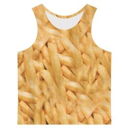 Men's French Fries Printed Tank Top