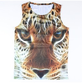 Men's Puma With Sparkles Printed Tank Top