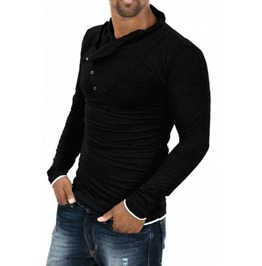 Men's Casual Fashion Slim Fit Long Sleeve T Shirt