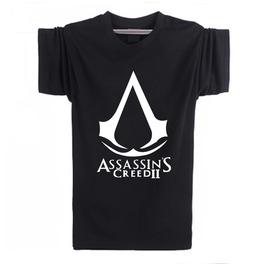 Mens Black Assassins Creed Tee