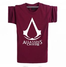 Mens Maroon Assassins Creed Tee