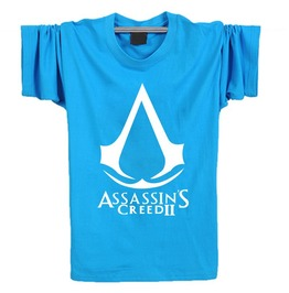 Mens Turquoise Assassins Creed Tee