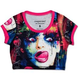 Super Hot Sex, Drugs & Punk Crop Top Sexy Underboobs Tank Top T Shirt New