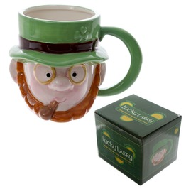 Egg N Chips London Novelty Ceramic Leprechaun Head Mug