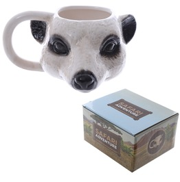 Egg N Chips London Novelty Ceramic Meerkat Head Ceramic Mug