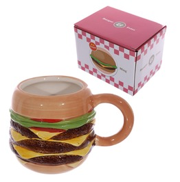 Egg N Chips London Novelty Fast Food Burger Mug