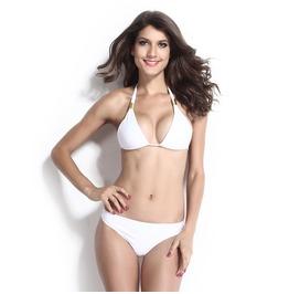 White Beach Bikini Sets
