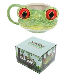 Egg N Chips London Novelty Tree Frog Shaped Mug