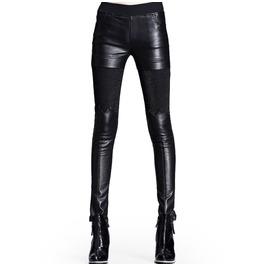 Black Leggings See Tru Thighs