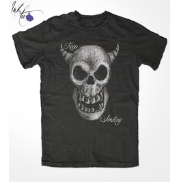 Keep Smiling, By Ink Tee, Men's Unisex T Shirt