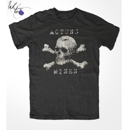 Actung Minen, By Ink Tee, Men's Unisex T Shirt
