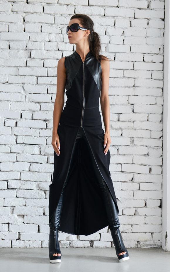 rebelsmarket_asymmetric_black_vest_long_loose_tunic_chain_sleeveless_jacket_leather_top_vests_6.jpg