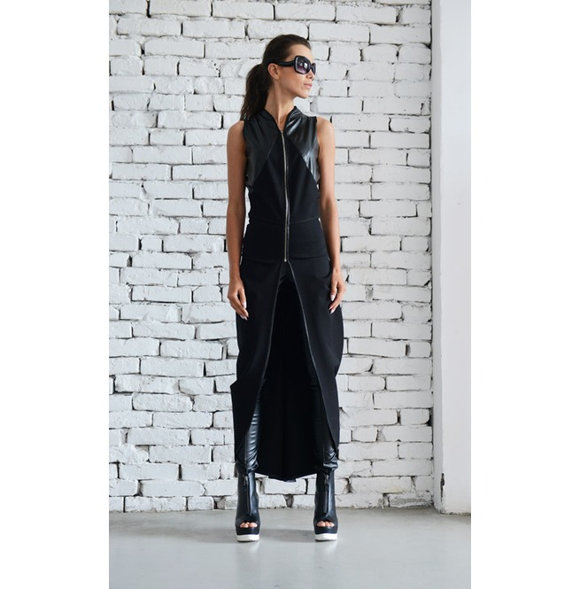 rebelsmarket_asymmetric_black_vest_long_loose_tunic_chain_sleeveless_jacket_leather_top_vests_6.jpg