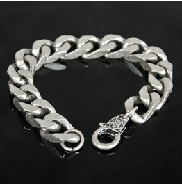 Thick Box Chain Metal Bracelet 63