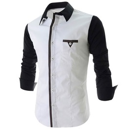 Casual Inner Layered Men Shirt
